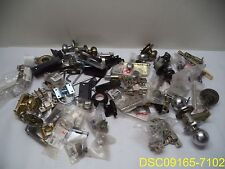 80 Piece Lot: Door hardware: 24 Hinges, and 56 Other, knobs, pulls, parts