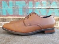 MENS COLE HAAN GRAND OS C25811 LENOX HILL BROWN LEATHER OXFORDS SHOES 8 M