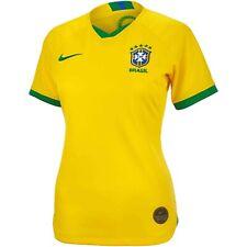 Nike Brazil Women's World Cup 2019 Home Jersey Ladies Medium AJ4390-749