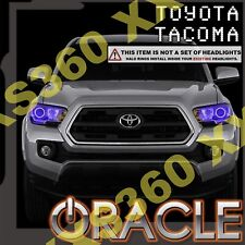 ORACLE Headlight HALO KIT RINGS for Toyota Tacoma 16-18 PURPLE LED Angel Eyes