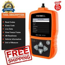 Auto / Automotive Diagnostic Code Scanner FOXWELL NT201 OBD II  Scan Tool Check