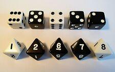 5 segnalini di ricambio per gioco da tavolo OTHELLO board game spares 5 counters