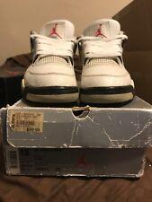 1999 Jordan White Cement 4 Size 13