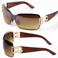 New WB Womens Mens Sunglasses Shades Fashion Designer Around Shield Retro Wrap