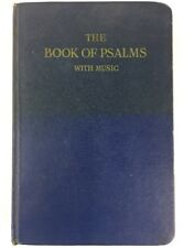 The Book of Psalms with Music 1961 Hardcover Reformed Presbyterian Church V1