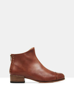 Beau Coops Beau5 Leather Ankle Boot - Sz 37