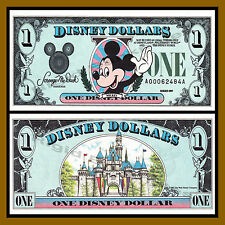 "Disney 1 Dollar, 1989 Series ""AA"" Disneyland Uncirculated"