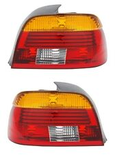 2 FEUX ARRIERE LED ROUGE ORANGE BMW SERIE 5 E39 BERLINE 523 i 09/2000-06/2003