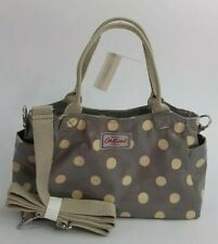 Cath Kidston Mini Day Bag Button Spot Grey Colour New with Tag