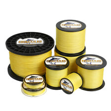 Геркулес 4 8 9 12 пряди 6-300 фунтов полиэтилен плетение кос лески желтый 109-2187yds