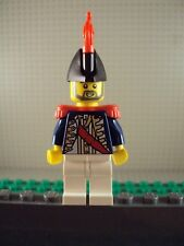 Lego Minifig ~ Imperial Officer Governor ~ Vintage Authentic Soldier Red Plume