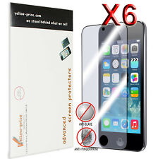 Apple iPod Touch 5 5th Gen Matte Screen Protector Guard Shield Cover Film, 6pcs