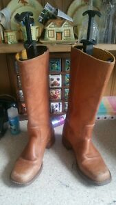 Frye Campus  campus festival leather cowboy western boots US size 8 UK 6