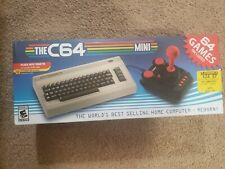 The C64 Mini Retro Console-Includes 64 Built-in Games & Joystick-NEW USA Version
