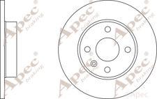 Discos De Freno Trasero (par) Para Opel Tigra TwinTop Genuino APEC DSK2390