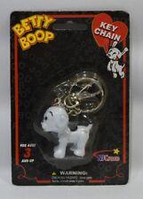 BETTY BOOP PUDGY porte-clé chien plastique 4.5 x 5 cm neuf