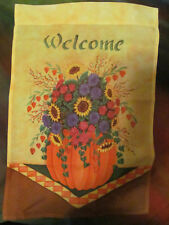 *New* Welcome Mini Flag Banner* Garden Flag * Mailbox* Yard*