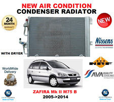 FOR VAUXHALL ZAFIRA B AIR CONDITION CONDENSER 2005->2014 1.6 CNG 1.8 M75