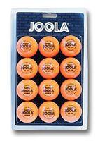 "Joola table tennis balls training quality - 40mm"" - pack of 12, orange color"