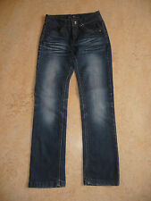 Jeans Jeanshose aus Italien für Mädchen + Junge blau Gr. 146 TOPZUSTAND