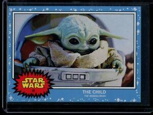 2019 Topps Star Wars Living Set #58 The Child SP Card Short Print Mandalorian