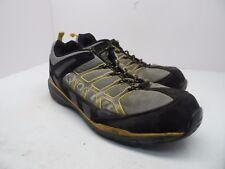 DAKOTA Men's QuadLite Aluminium Toe Steel Plate Work SHoe Black/Yellow Size 11EE