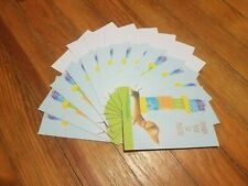 12 Blank Thank You Cards Puppy Presents UNUSED