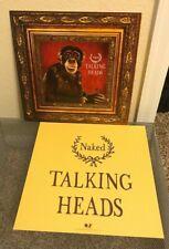 "Talking Heads 2 Album Flats Naked artwork Us 12x12"" promotional rare David Byrne"