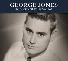 George Jones SINGLES 1954-1962 Remastered BEST OF 94 ESSENTIAL SONGS New 4 CD