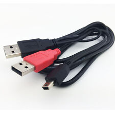 6ft USB to mini USB Y Cable for External Hard Drive with USB A power supply