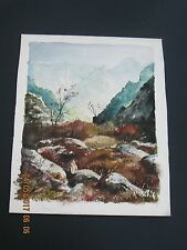 ORIGINAL WATER COLOR     BY  M. F. HEIMBACH