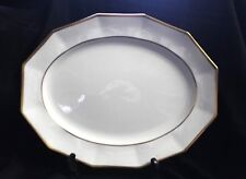 Johnson Brothers Cream Serving Platter Gold Trim England