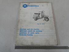 CATALOGO PARTI DI RICAMBIO VESPA PK 125 XL 1986 ORIGINALE PIAGGIO 105 PAG
