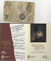 2 Euro Sondermünze San Marino 2014 :90. Todestag von Giacomo Puccini