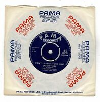"""ANTHONY DEELEY-don't change your mind about me   pama 7""""   (hear)   soul funk"""