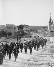 "Ottoman Turkish Army Nablus Road Jerusalem World War 1, 5x4"" Reprint Photo 1"