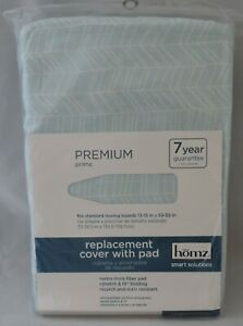 NEW PADDED IRONING BOARD COVER COTTON ELASTIC BAND ASST. DESIGNS