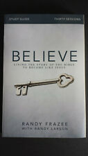 NEW  BELIEVE STUDY GUIDE: Living...the Bible to Become Like Jesus - Frazee