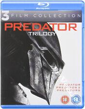 Predator Trilogy NEW Cult Blu-Ray 3-Disc Set Arnold Schwarzenegger Danny Glover