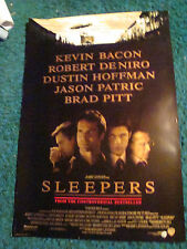 SLEEPERS - MOVIE POSTER WITH JASON PATRIC, BRAD PITT & ROBERT DE NIRO