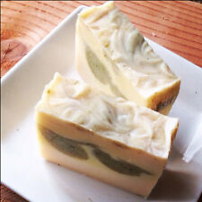 Wholesale Organic soap Loaf {LEMONGRASS & SAGE} W/ Rice bran oil, oatmeal