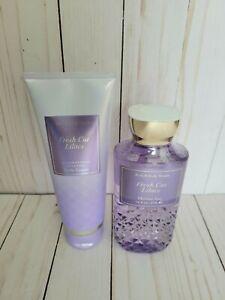 bath and body works fresh cut lilacs shower gel and body cream