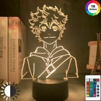 Table Led Lamp Acrylic Night Light Anime Kids Bedroom Decorations Accessories