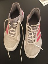 adidas tennis shoes men Size 8.5 Used Less Than 10 Times White