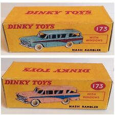 Dinky 173 Nash Rambler Empty Repro Box Only