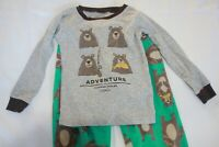 Carter's Boy Bear Adventure Winter (3T) 2 Piece Pajamas Set Discontinued Style