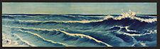 Japanese Print Reproductions: Konen: Seascapes: Waves #3:  Fine Art Print
