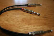 """Y Insert Cable - 1/4"""" TRS to (2) 1/4"""" TS - Mogami - 18"""""""