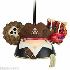 New Disney Parks Pirates of the Caribbean Mickey Ear Hat Christmas Ornament
