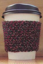 Crochet Pattern ~ COFFEE CUP COZY ~ Instructions